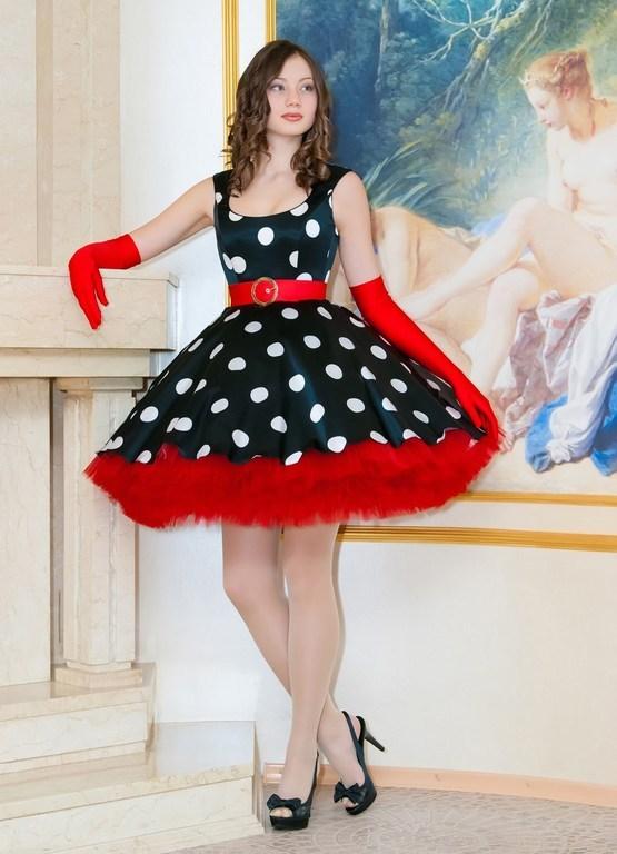 Сшить платье в стили стиляги 13