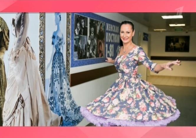 4ea8eddfc84a8f4 Платье из нашего магазина на участнице программы